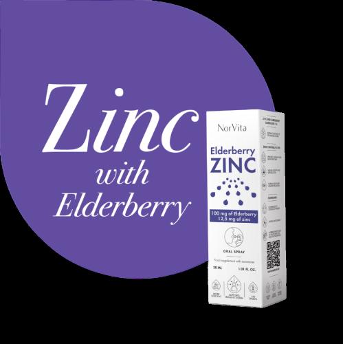 Sprej NorVita Zinc Elderberry